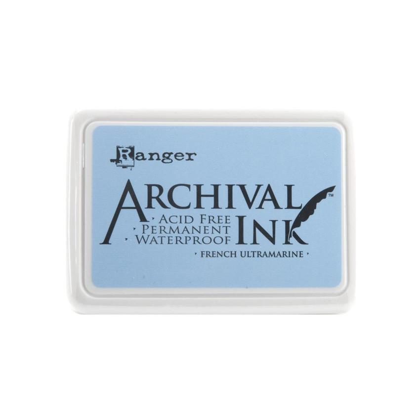 Encre Archival FRENCH ULTRAMARINE par Ranger. Scrapbooking et loisirs créatifs. Livraison rapide et cadeau dans chaque commande.