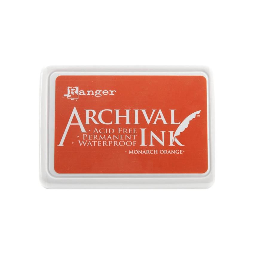 Encre Archival MONARCH ORANGE par Ranger. Scrapbooking et loisirs créatifs. Livraison rapide et cadeau dans chaque commande.