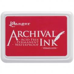 Parfait pour créer : Encre Archival VERMILLION par Ranger. Livraison rapide et cadeau dans chaque commande.