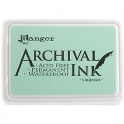 Encre Archival VIRIDIAN par Ranger. Scrapbooking et loisirs créatifs. Livraison rapide et cadeau dans chaque commande.