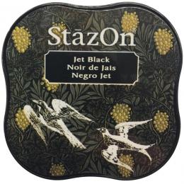Stazon Midi JET BLACK par Tsukineko. Scrapbooking et loisirs créatifs. Livraison rapide et cadeau dans chaque commande.