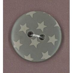 PROMO de -70% sur Bouton Taupe à étoiles gris clair Paritys