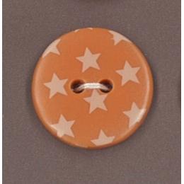 PROMO de -70% sur Bouton Douceur mandarine à étoiles jaune clair Paritys