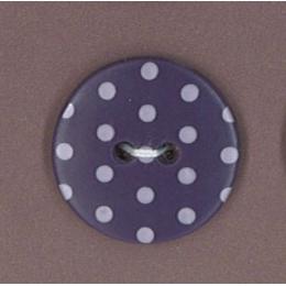 Bouton Prune délicate à pois violet clair par Paritys. Scrapbooking et loisirs créatifs. Livraison rapide et cadeau dans chaq...