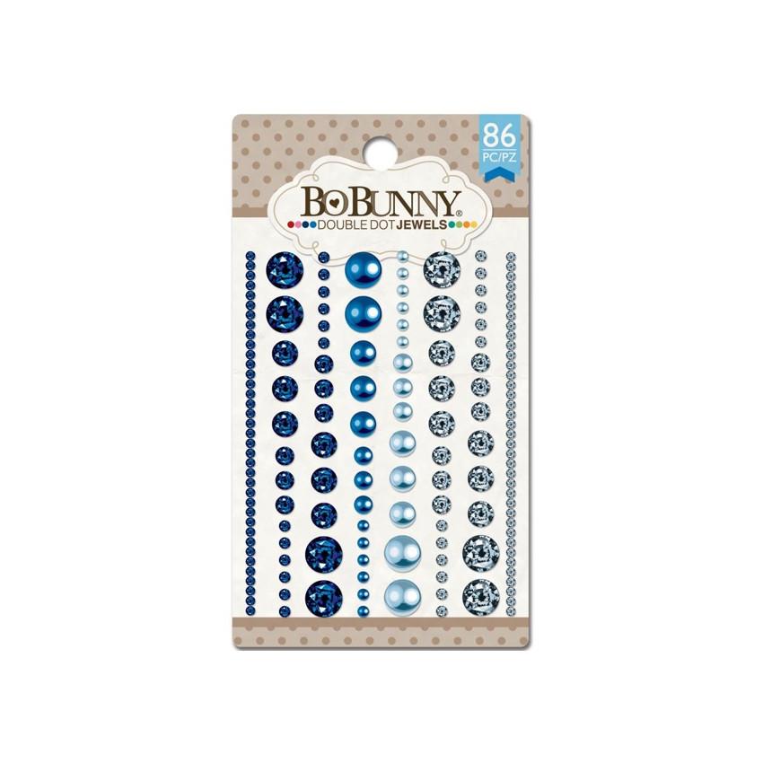 Strass et perles bleus BLUE HUES