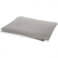 Papier argent A4 SILVER FOIL par Bazzill Basics Paper. Scrapbooking et loisirs créatifs. Livraison rapide et cadeau dans chaq...