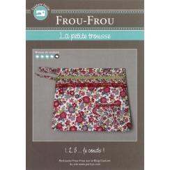 """Fiche créative Frou-Frou """"Petite trousse"""""""
