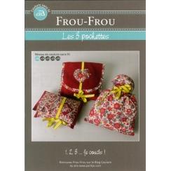 "Fiche créative Frou-Frou ""3 pochettes"""