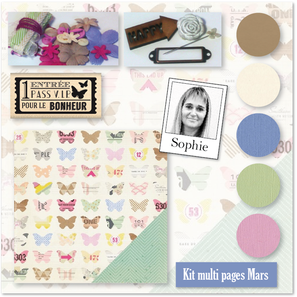 KIT MULTI PAGES MARS 2015