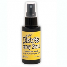 Encre en spray Distress Stain MUSTARD SEED
