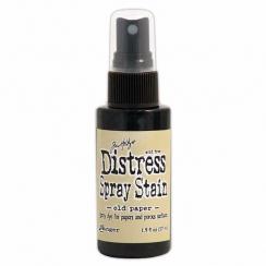 Encre en spray Distress Stain OLD PAPER