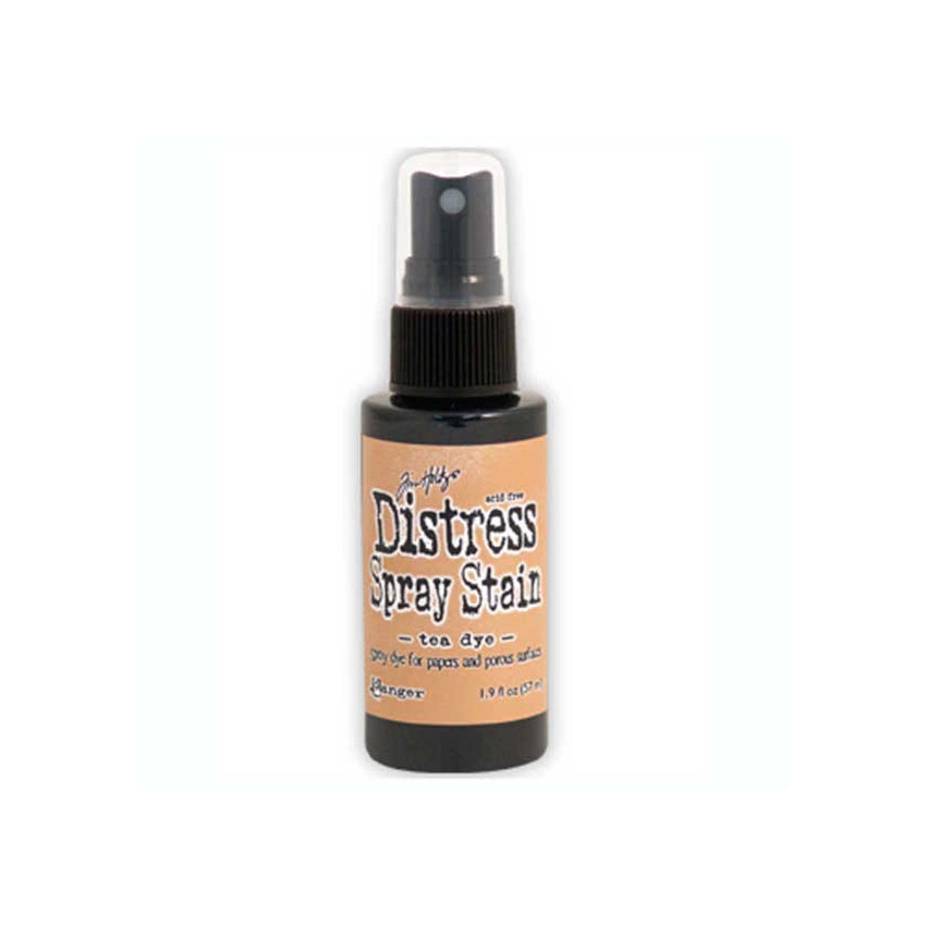 Encre en spray Distress Stain TEA DYE