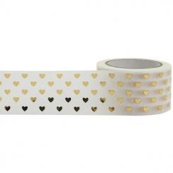 Masking tape COEURS OR