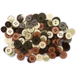 Sachet de boutons NATURE