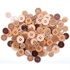 Sachet de boutons NATURAL
