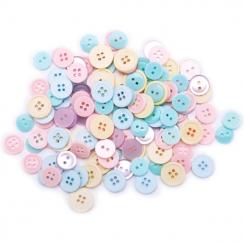 Sachet de boutons PASTELS