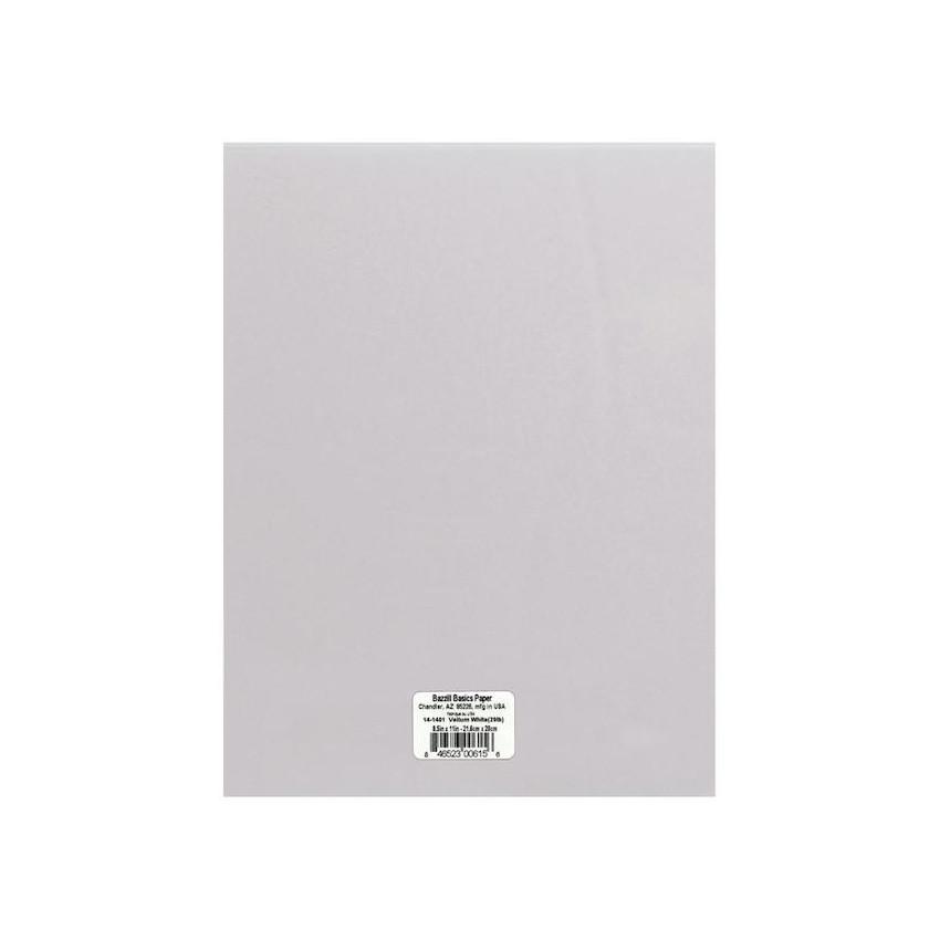 Papier calque blanc moyen (90g) A4