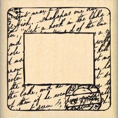 Tampon bois DIAPOSITIVE par Florilèges Design. Scrapbooking et loisirs créatifs. Livraison rapide et cadeau dans chaque comma...