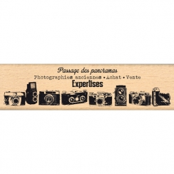 Tampon bois PHOTOGRAPHIES ANCIENNES