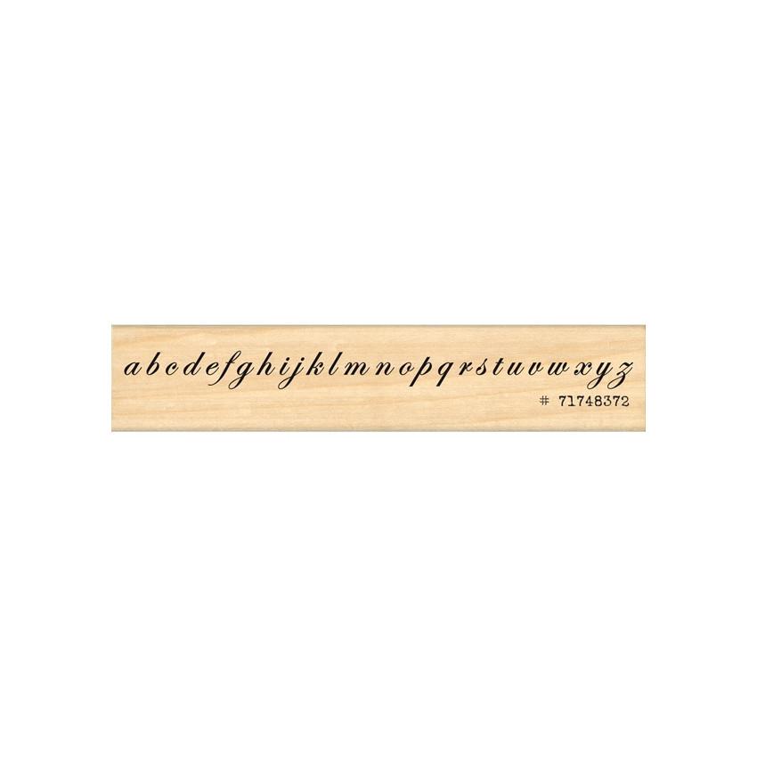 PROMO de -60% sur Tampon bois ALPHABET CALLIGRAPHIE Florilèges Design
