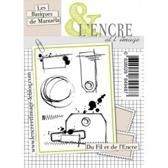 Tampons clear DU FIL ET DE L'ENCRE par L'Encre et l'Image. Scrapbooking et loisirs créatifs. Livraison rapide et cadeau dans ...