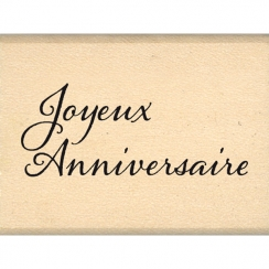 Tampon bois MINI ANNIVERSAIRE par Florilèges Design. Scrapbooking et loisirs créatifs. Livraison rapide et cadeau dans chaque...