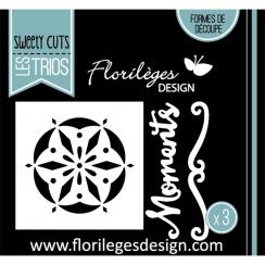 Outils de découpe MOMENTS DENTELLE par Florilèges Design. Scrapbooking et loisirs créatifs. Livraison rapide et cadeau dans c...