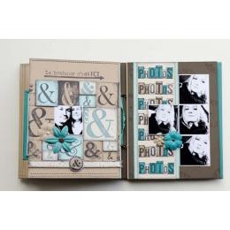 Tampon bois DÉS PHOTOS par Florilèges Design. Scrapbooking et loisirs créatifs. Livraison rapide et cadeau dans chaque commande.