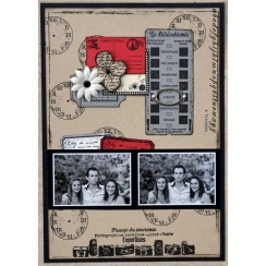 Tampon bois GRANDE FLEUR DE MAI par Florilèges Design. Scrapbooking et loisirs créatifs. Livraison rapide et cadeau dans chaq...