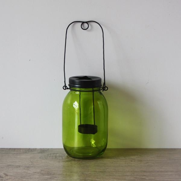 Lanterne Bocal Vert