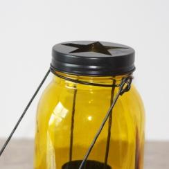 PROMO de -60% sur Lanterne bocal jaune Cook and Gift
