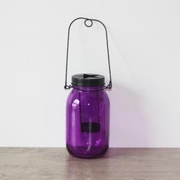 Lanterne bocal violet par . Scrapbooking et loisirs créatifs. Livraison rapide et cadeau dans chaque commande.
