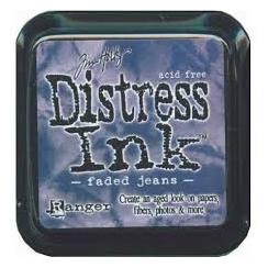 Encre Mini Distress FADED JEAN par Ranger. Scrapbooking et loisirs créatifs. Livraison rapide et cadeau dans chaque commande.