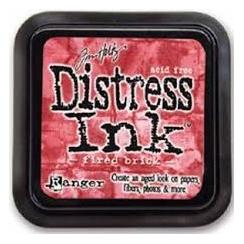 Encre Mini Distress FIRED BRICK par Ranger. Scrapbooking et loisirs créatifs. Livraison rapide et cadeau dans chaque commande.
