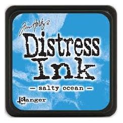Encre Mini Distress SALTY OCEAN par Ranger. Scrapbooking et loisirs créatifs. Livraison rapide et cadeau dans chaque commande.