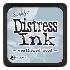 Encre Mini Distress WEATHERED WOOD