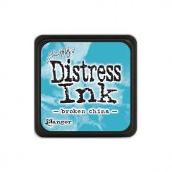 Encre Mini Distress BROKEN CHINA par Ranger. Scrapbooking et loisirs créatifs. Livraison rapide et cadeau dans chaque commande.