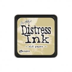 Encre Mini Distress OLD PAPER par Ranger. Scrapbooking et loisirs créatifs. Livraison rapide et cadeau dans chaque commande.