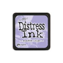 Encre Mini Distress SHADED LILAC par Ranger. Scrapbooking et loisirs créatifs. Livraison rapide et cadeau dans chaque commande.
