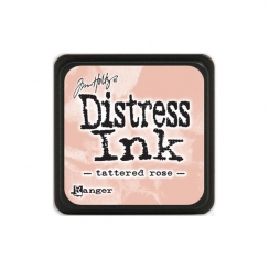 Encre Mini Distress TATTERED ROSE