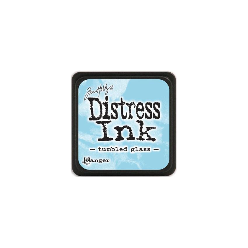 Encre Mini Distress TUMBLED GLASS par Ranger. Scrapbooking et loisirs créatifs. Livraison rapide et cadeau dans chaque commande.
