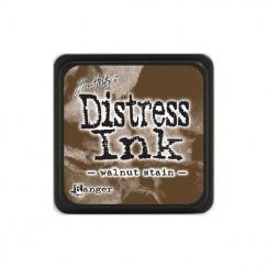 Encre Mini Distress WALNUT STAIN par Ranger. Scrapbooking et loisirs créatifs. Livraison rapide et cadeau dans chaque commande.