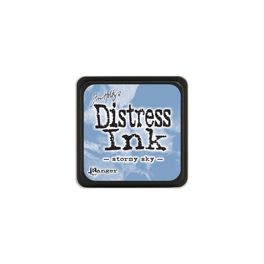Encre Mini Distress STORMY SKY par Ranger. Scrapbooking et loisirs créatifs. Livraison rapide et cadeau dans chaque commande.