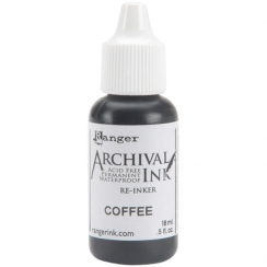 Recharge encre Archival COFFEE