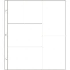 Pochettes 6 compartiments Project Life Design G par American Crafts. Scrapbooking et loisirs créatifs. Livraison rapide et ca...