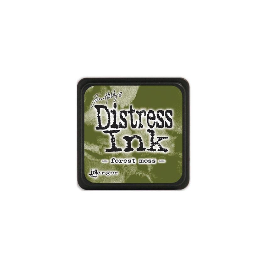 Encre Mini Distress FOREST MOSS par Ranger. Scrapbooking et loisirs créatifs. Livraison rapide et cadeau dans chaque commande.