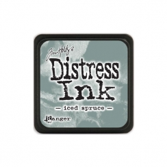 Encre Mini Distress ICED SPRUCE