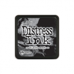 Encre Mini Distress BLACK SOOT