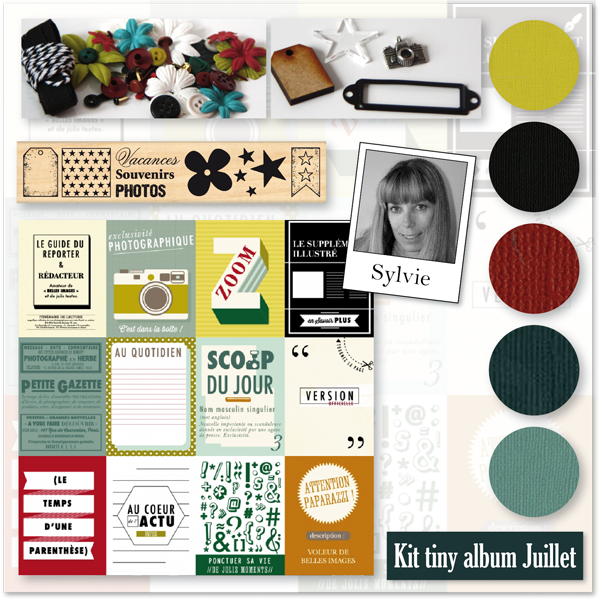 KIT TINY ALBUM JUILLET 2015