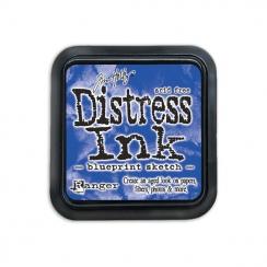 Encre Distress BLUEPRINT SKETCH
